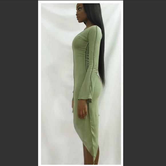 Gesel Ivy Green Dress